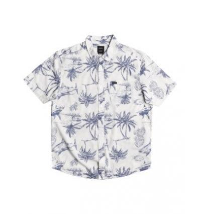 CAMISA HOMBRE RVCA PANIC POINT SS